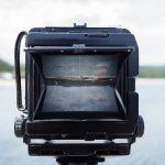 次回個展の作品制作で使っている大判カメラ(4×5)での撮影の実際