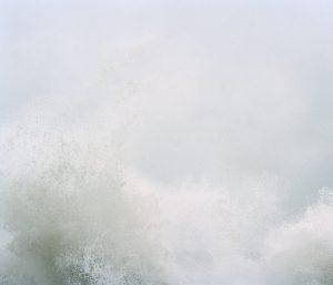 残波岬 台風